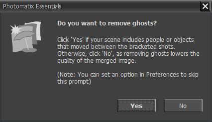 Remove Ghosting Window