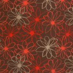red burgundy dark floral patterned paper