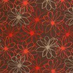 red burgundy dark floral patterned paper