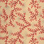 Leaf paper red tan