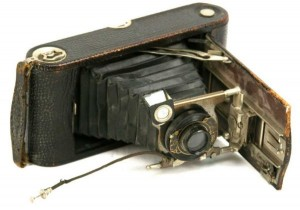 ANTIQUE DRY PLATE KODAK CAMERA
