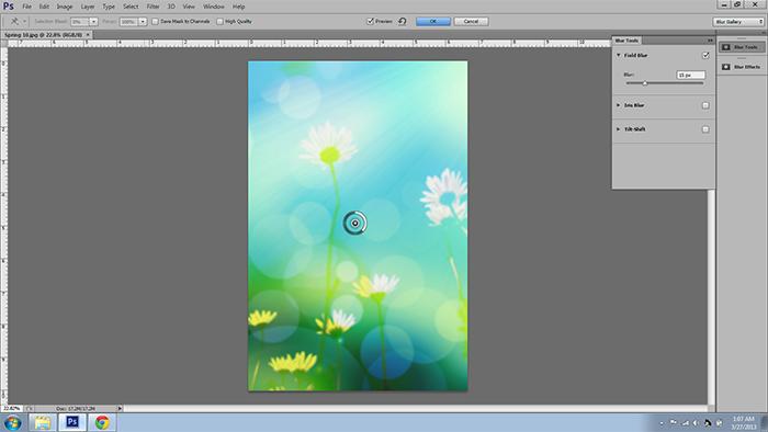 Blur Tool New in CS6