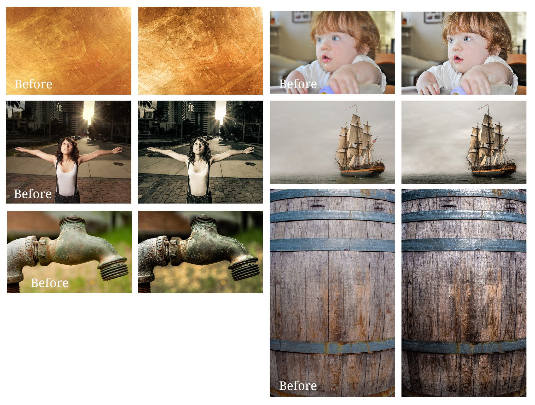Detail and Clarity Lightroom Presets